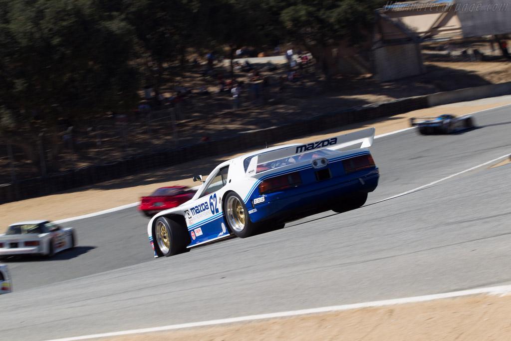 Mazda RX-7 GTO - Chassis: GTO 001 - Driver: Jeremy Barnes  - 2014 Monterey Motorsports Reunion