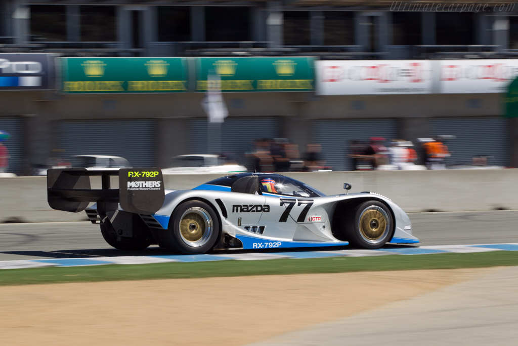 Mazda RX-792P - Chassis: GTP 001 - Driver: Weldon Munsey  - 2014 Monterey Motorsports Reunion