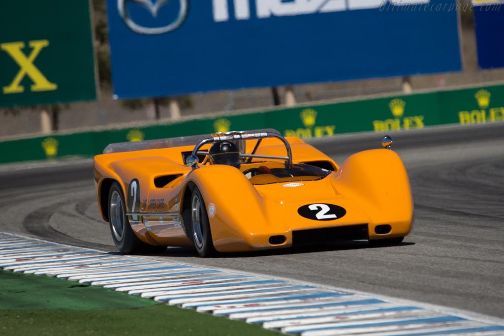 McLaren M6B Chevrolet - Chassis: 50-07A - Driver: Robert Ryan - 2014 Monterey Motorsports Reunion