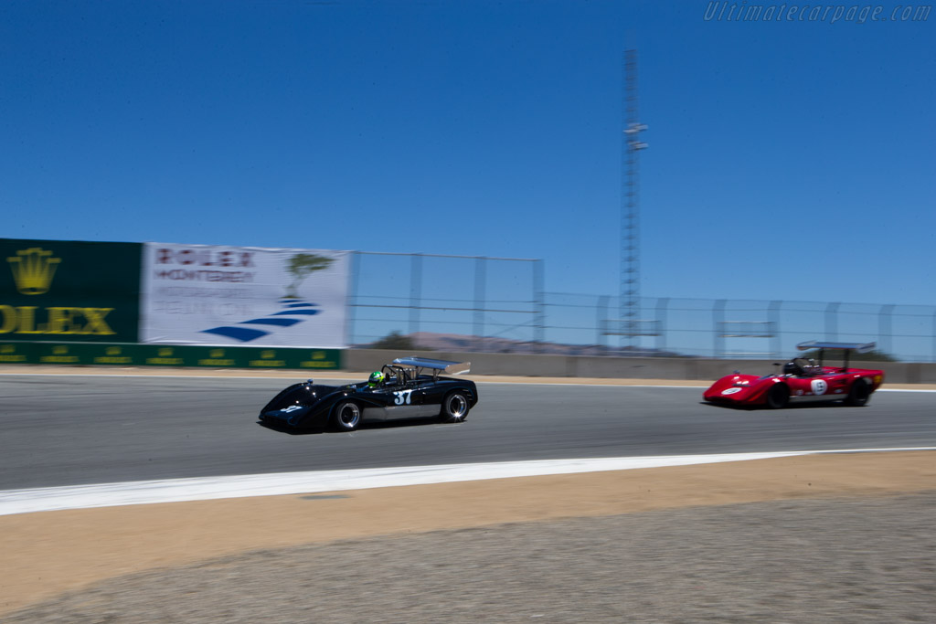 McLaren M8C Chevrolet - Chassis: M8C-70-09 - Driver: Thomas Steuer  - 2014 Monterey Motorsports Reunion