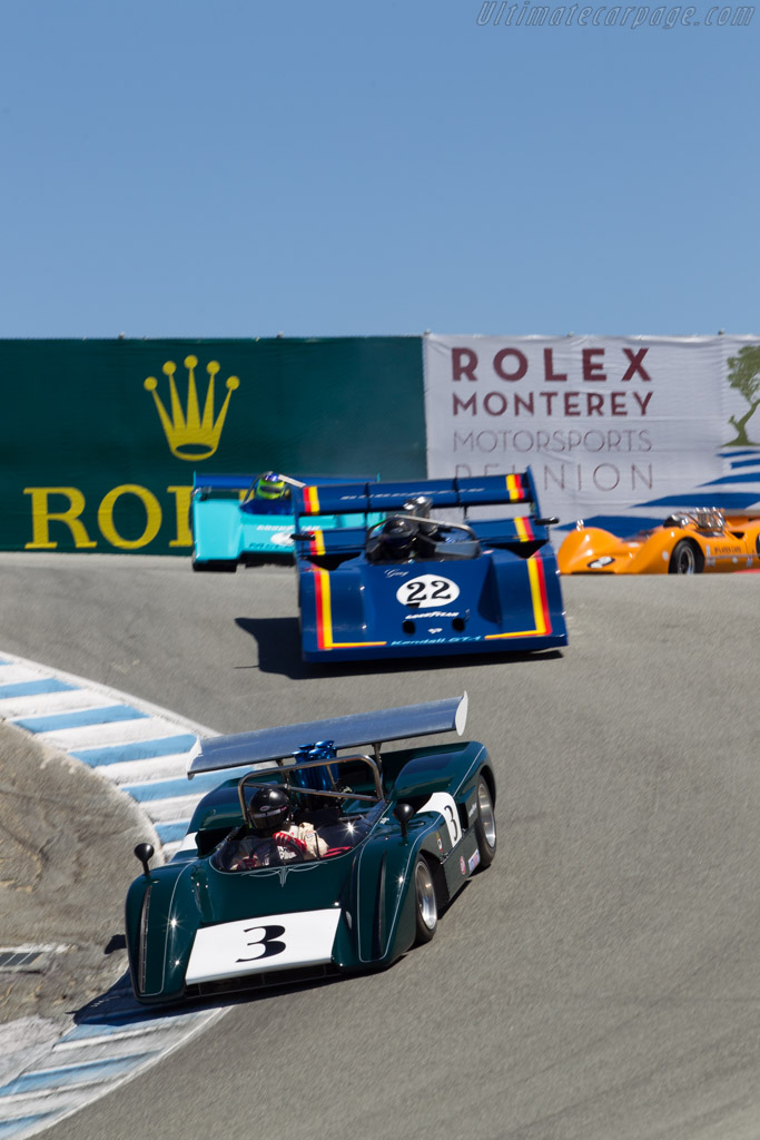 McLaren M8E Chevrolet - Chassis: M8E-80-01 - Driver: Tom Malloy  - 2014 Monterey Motorsports Reunion