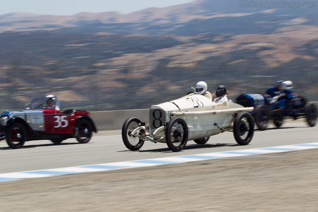 Mercedes 18/100 Grand Prix - Chassis: 15364 - Driver: George Wingard  - 2014 Monterey Motorsports Reunion