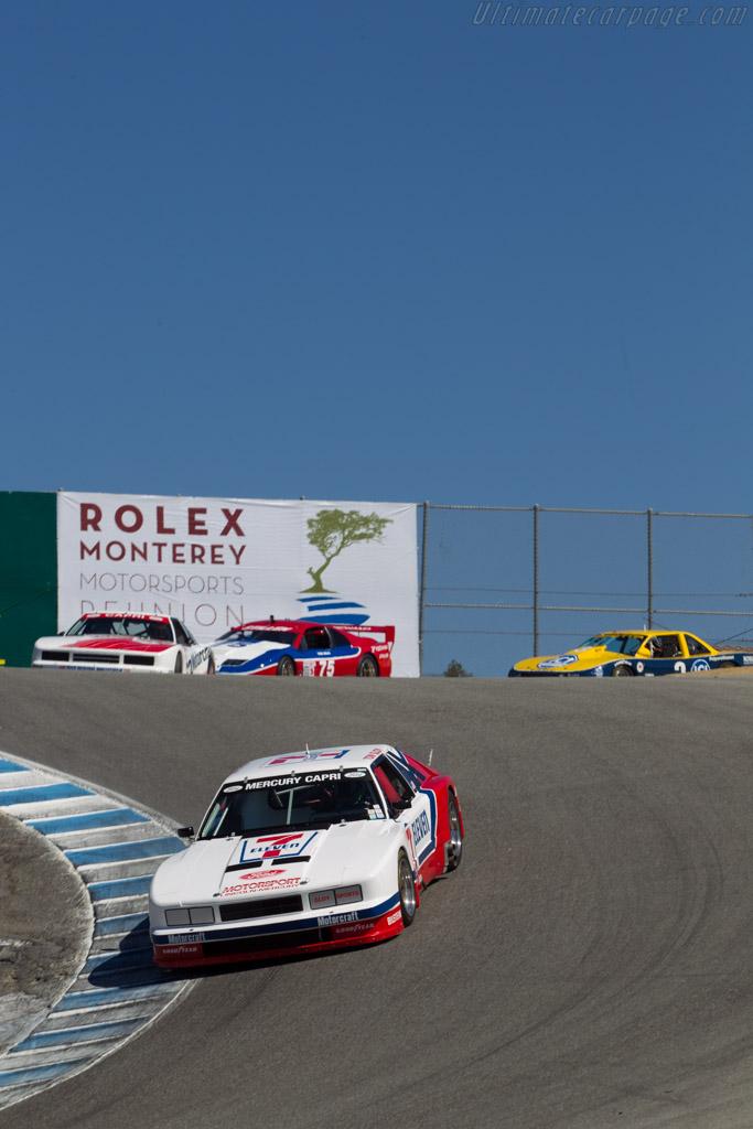 Mercury Capri  - Driver: John Mckenna  - 2014 Monterey Motorsports Reunion