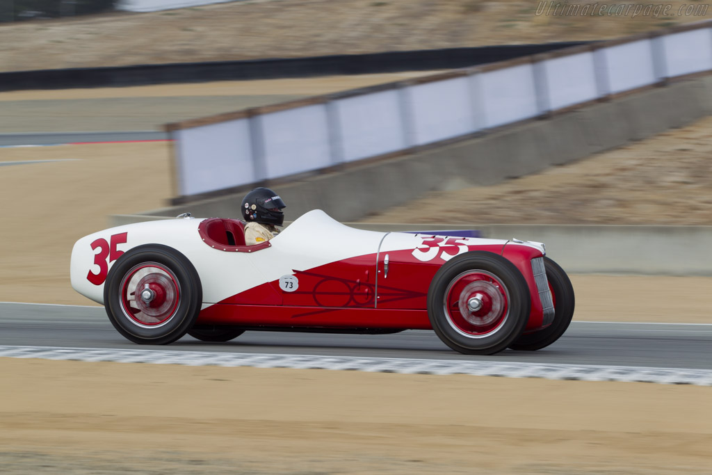 Miller Ford  - Driver: Tom Malloy  - 2014 Monterey Motorsports Reunion