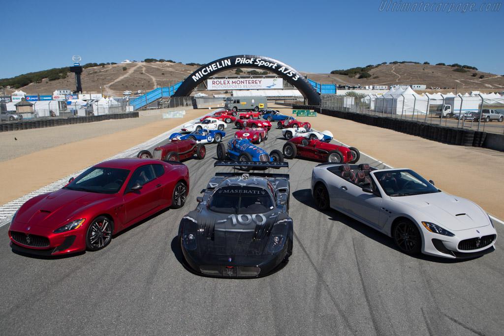 Modern Maseratis    - 2014 Monterey Motorsports Reunion