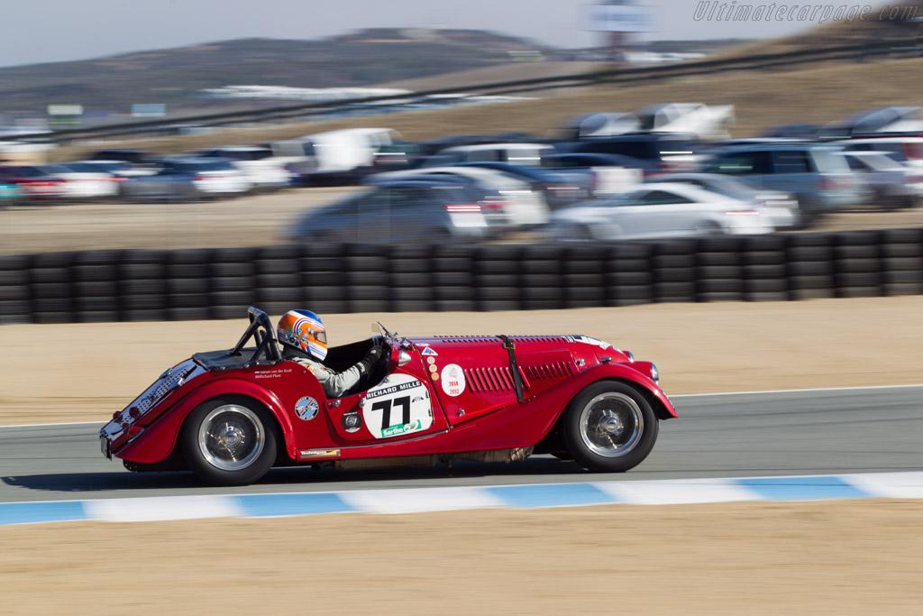 Morgan 4  - Driver: Adrian van der Kroft  - 2014 Monterey Motorsports Reunion