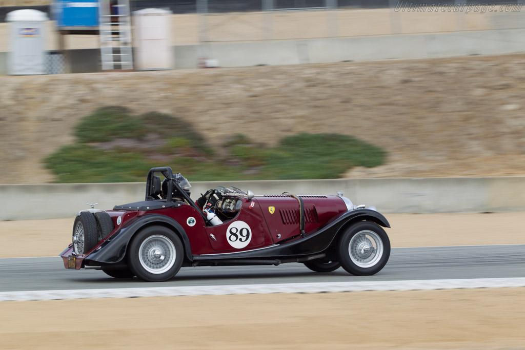 Morgan Plus Roadster - Chassis: P2152 - Driver: John G. Miller  - 2014 Monterey Motorsports Reunion