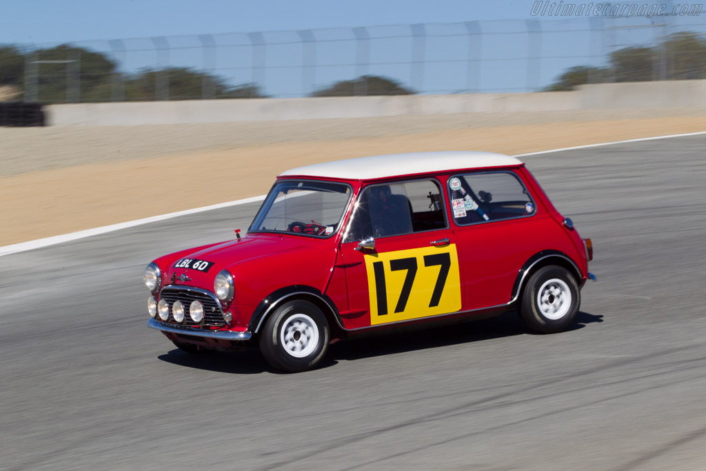 Morris Mini Cooper S - Chassis: 134521 - Driver: Dennis Racine  - 2014 Monterey Motorsports Reunion