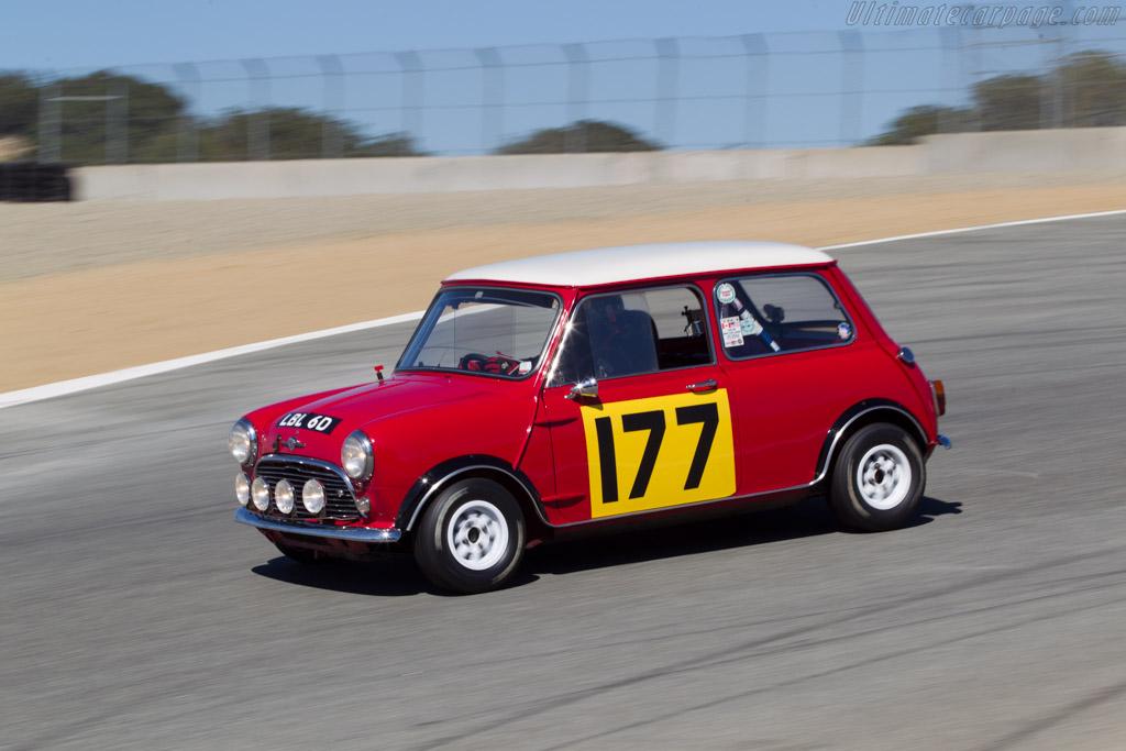 Morris Mini Cooper S - Chassis: 134521 - Driver: Dennis Racine  - 2014 Monterey Motorsports Reunion