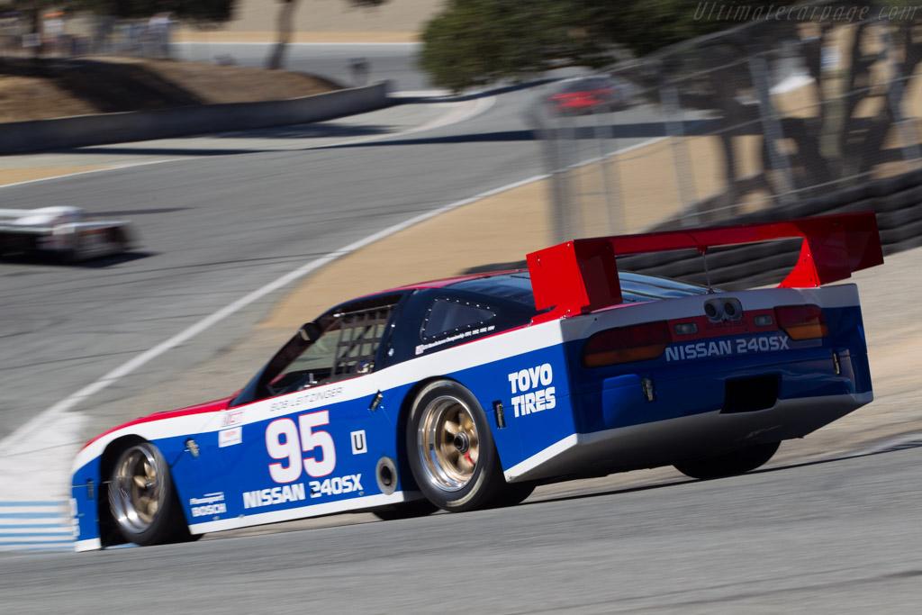 Nissan 240 SX - Chassis: LR-001 - Driver: Philip Mendelovitz  - 2014 Monterey Motorsports Reunion
