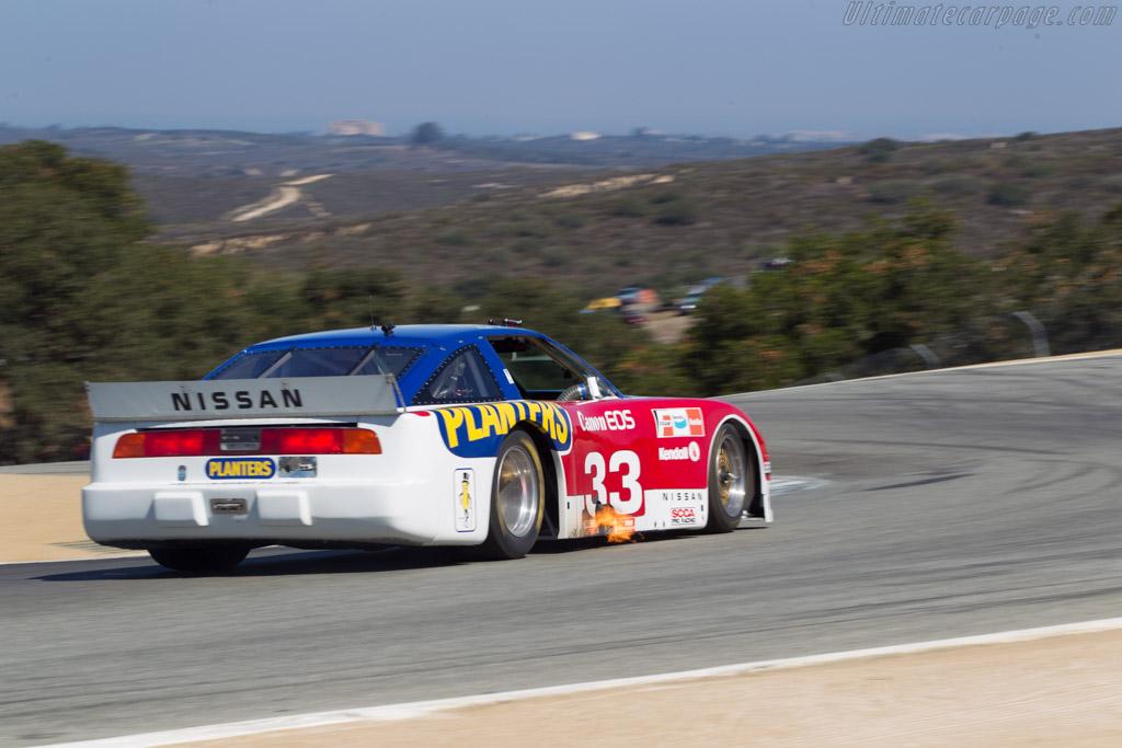 Nissan 300 ZX  - Driver: Adam Carolla  - 2014 Monterey Motorsports Reunion