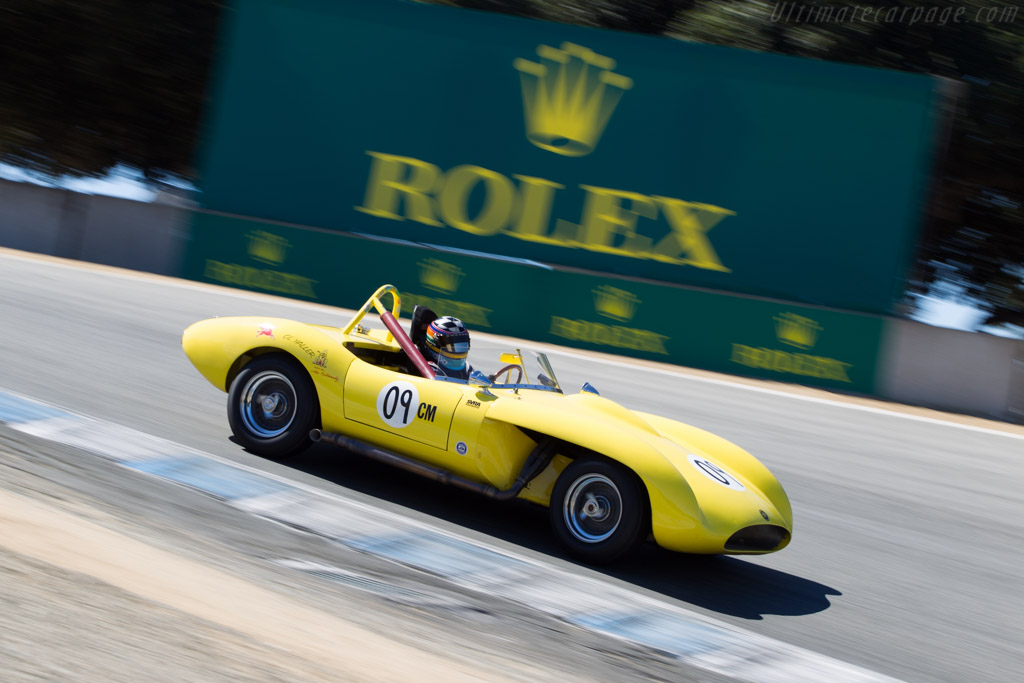 Ol Yaller 8 Jaguar - Chassis: 8 - Driver: Edith Arrowsmith  - 2014 Monterey Motorsports Reunion