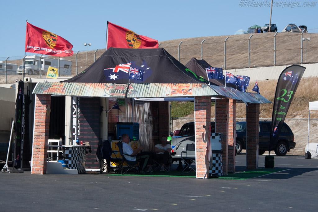 Outback Garage    - 2014 Monterey Motorsports Reunion