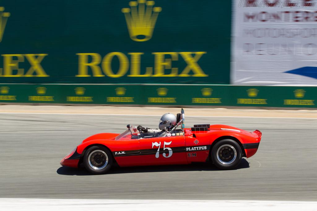 Platypus Porsche - Chassis: 1 - Driver: Neil Alexander  - 2014 Monterey Motorsports Reunion