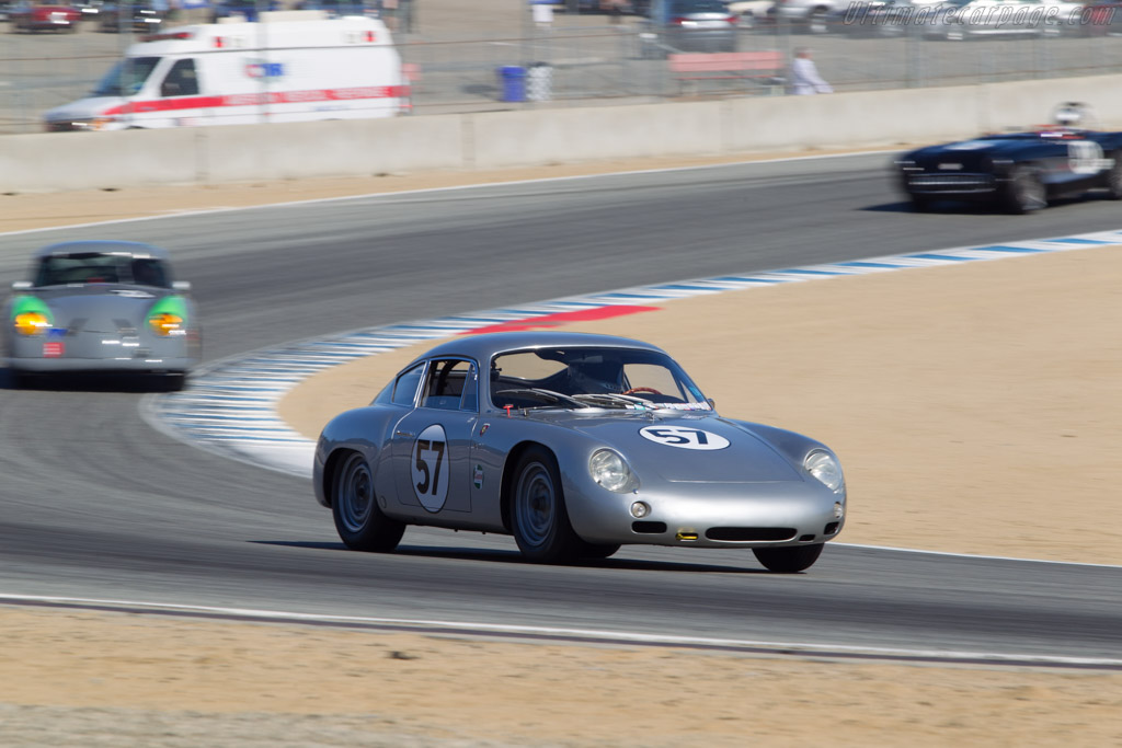 Porsche 356 Abarth GTL - Chassis: 1015 - Driver: William H. Lyon  - 2014 Monterey Motorsports Reunion
