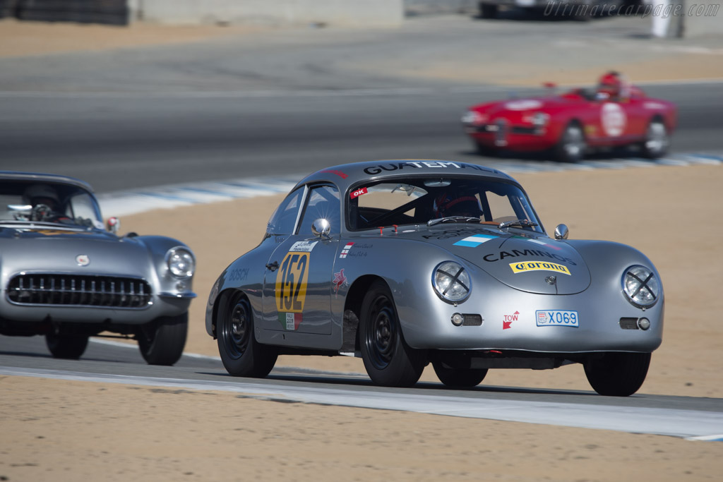 Porsche 356A - Chassis: 101684 - Driver: Richard Clark  - 2014 Monterey Motorsports Reunion