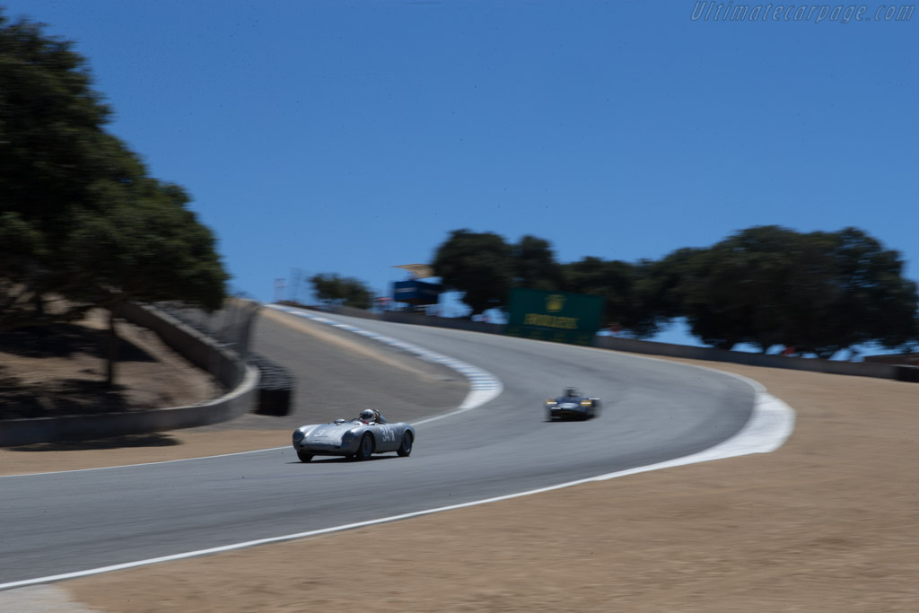 Porsche 550A Spyder - Chassis: 550A-0144 - Driver: Tom Trabue  - 2014 Monterey Motorsports Reunion