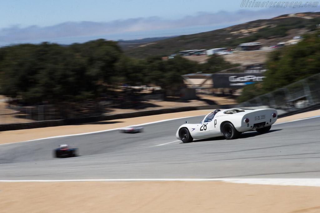 Porsche 910 - Chassis: 910-025 - Driver: Stephen Thein  - 2014 Monterey Motorsports Reunion