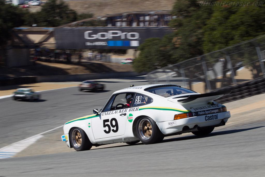 Porsche 911 Carrera RS 3.0 - Chassis: 911 460 9089 - Driver: Johan Dirickx  - 2014 Monterey Motorsports Reunion
