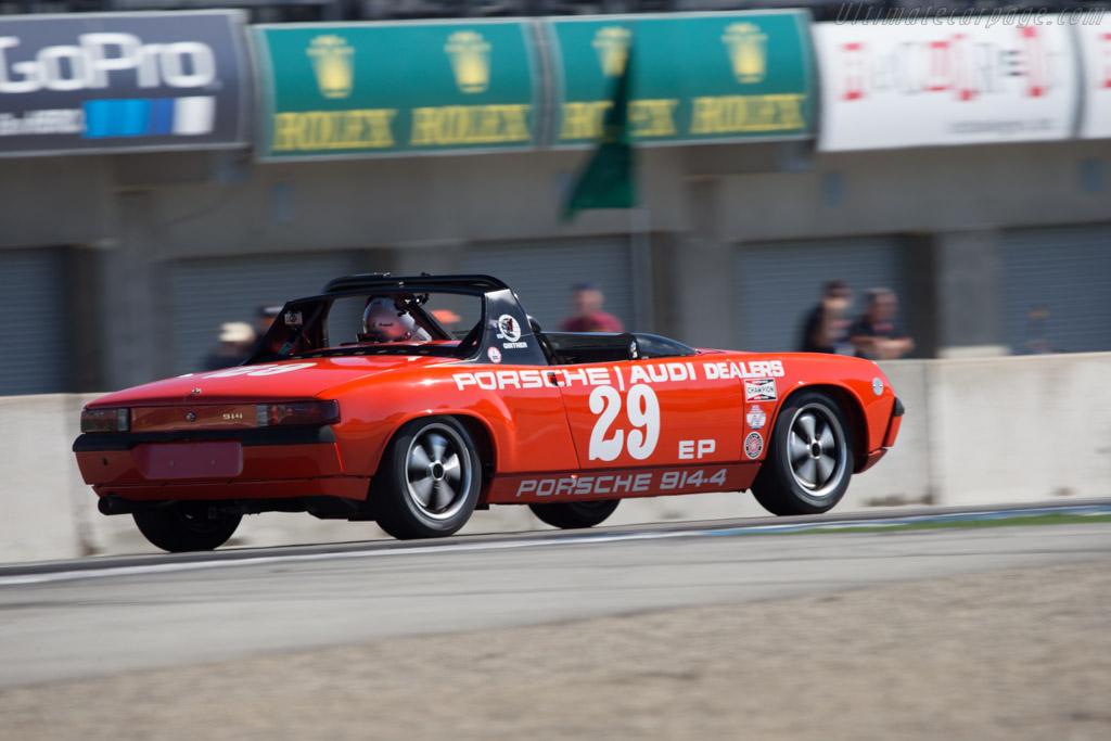 Porsche 914  - Driver: Trevor Frank  - 2014 Monterey Motorsports Reunion