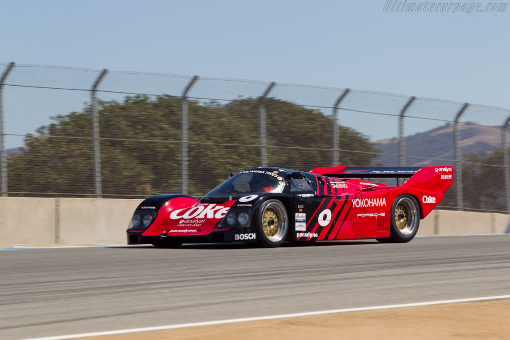 Porsche 962 - Chassis: C004 - Driver: Ray Langston  - 2014 Monterey Motorsports Reunion