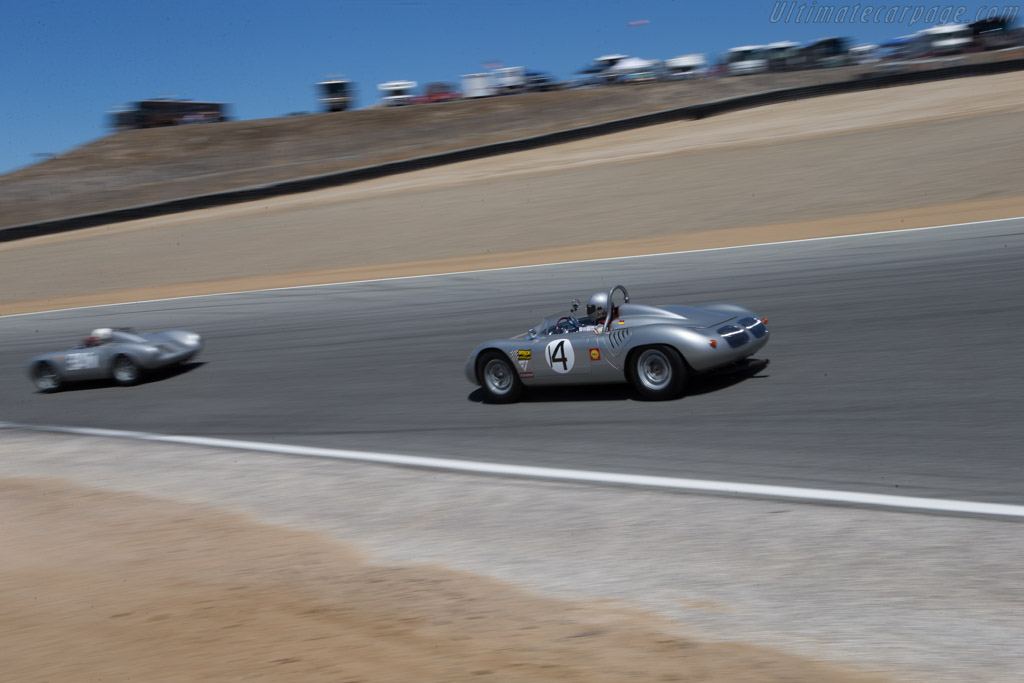 Porsche RS60 Spyder - Chassis: 718-052 - Driver: William H. Lyon  - 2014 Monterey Motorsports Reunion