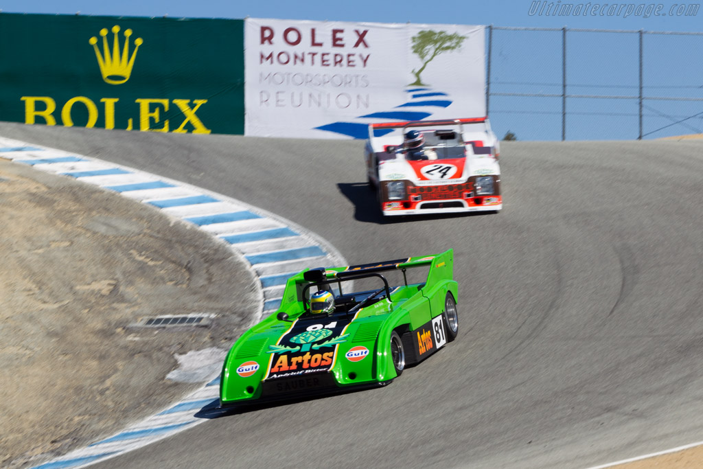 Sauber C4 - Chassis: C04.001 - Driver: Brian Groza  - 2014 Monterey Motorsports Reunion