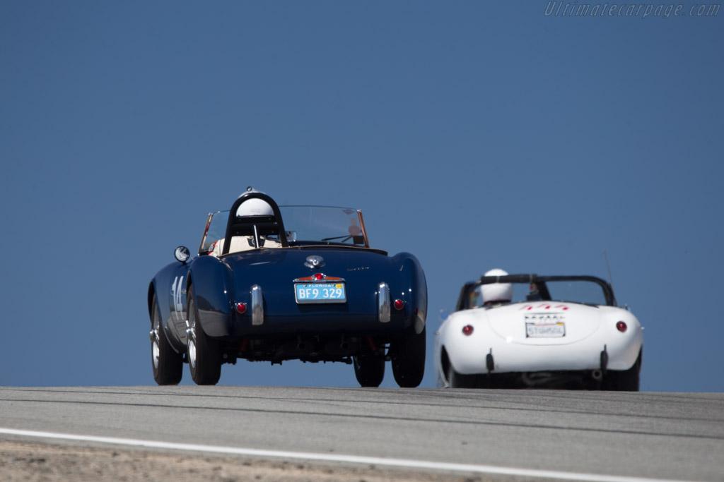 Siata 208S Roadster - Chassis: BS528 - Driver: Robert Davis  - 2014 Monterey Motorsports Reunion