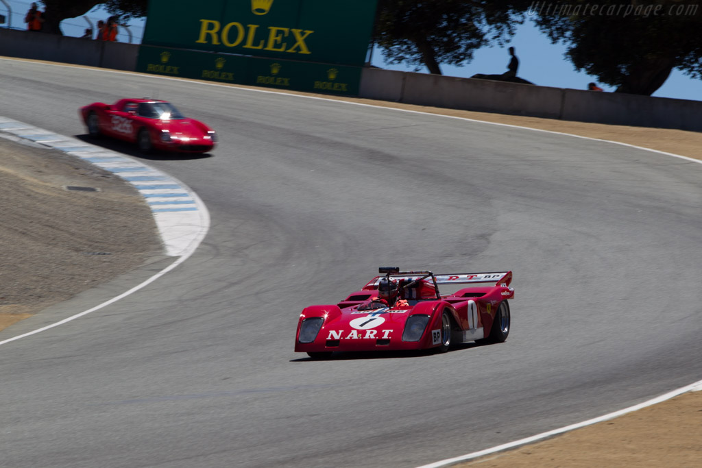Sparling Ferrari Flying Shingle Special  - Driver: John Goodman  - 2014 Monterey Motorsports Reunion