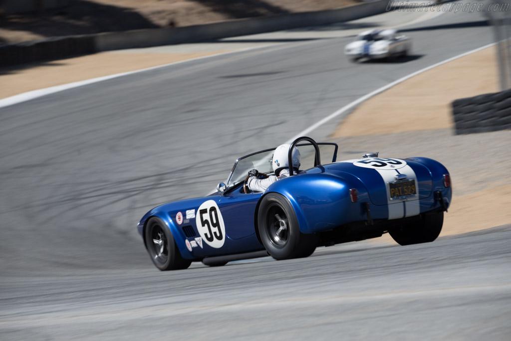 AC Shelby Cobra - Chassis: CSX2484 - Driver: Jim Bouzaglou  - 2015 Monterey Motorsports Reunion