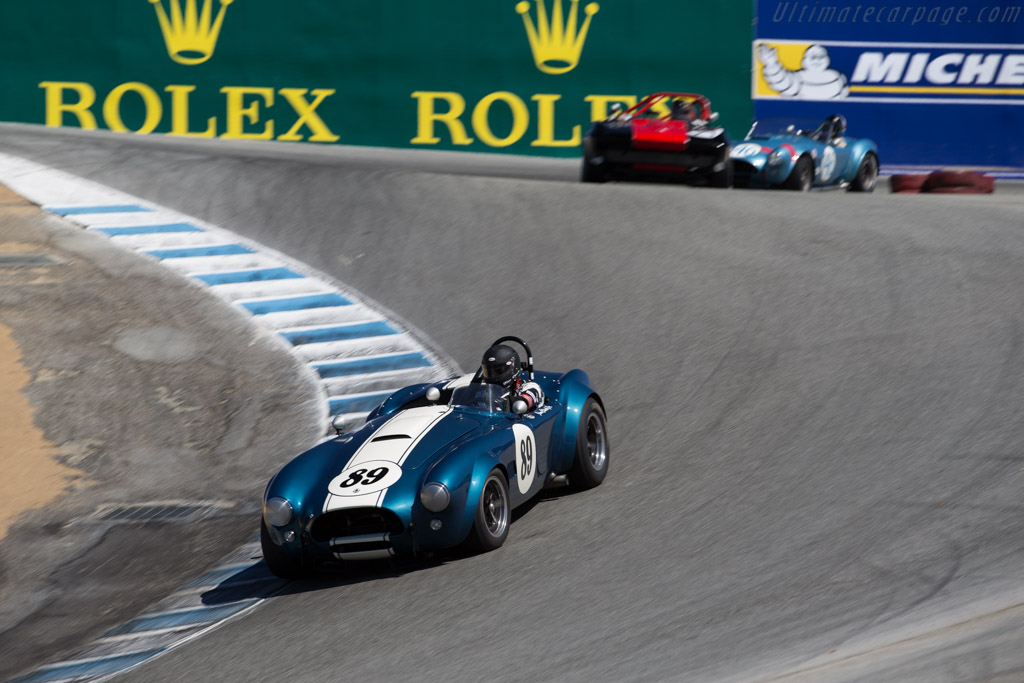 AC Shelby Cobra - Chassis: CSX2473 - Driver: Jim Click  - 2015 Monterey Motorsports Reunion