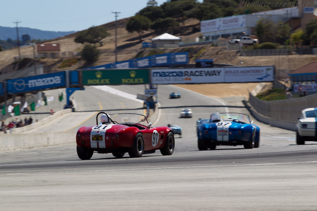 AC Shelby Cobra - Chassis: CSX2291 - Driver: Tim Park  - 2015 Monterey Motorsports Reunion