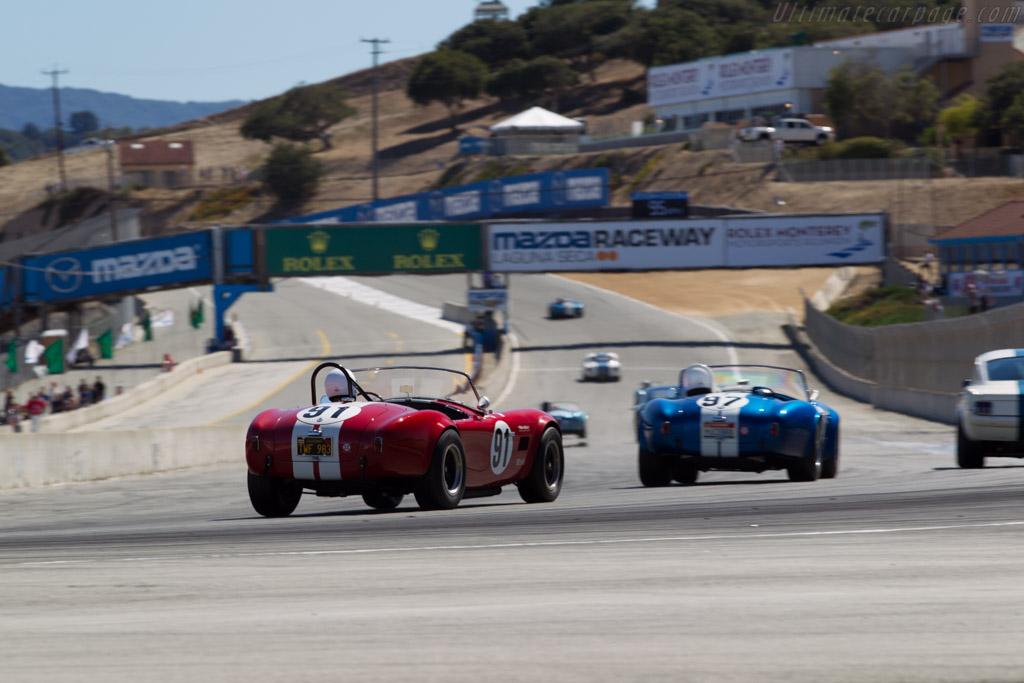 AC Shelby Cobra - Chassis: CSX2291 - Driver: Tim Park  - 2015 Monterey Motorsports Reunion
