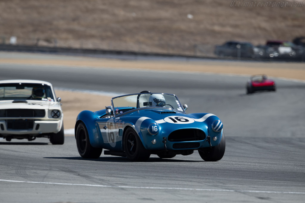 AC Shelby Cobra - Chassis: CSX2259 - Driver: Lynn Park  - 2015 Monterey Motorsports Reunion