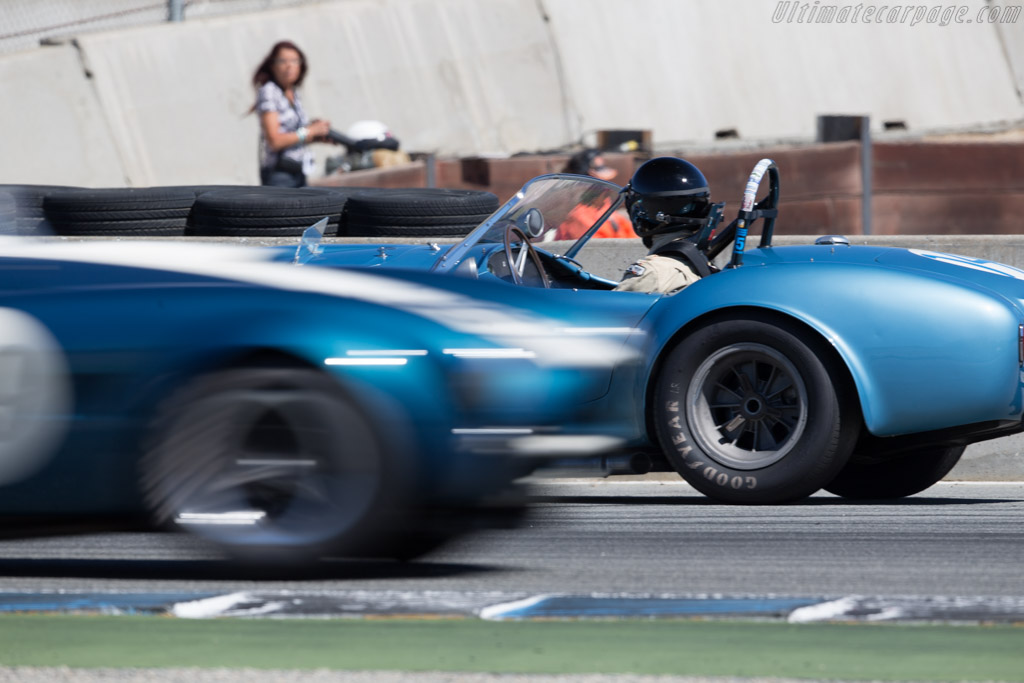 AC Shelby Cobra - Chassis: CSX2323 - Driver: Chris MacAllister  - 2015 Monterey Motorsports Reunion
