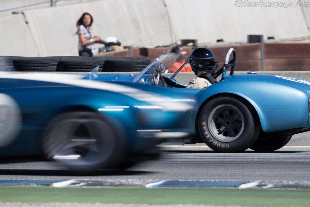 AC Shelby Cobra - Chassis: CSX2323 - Driver: Chris MacAllister  - 2015 Monterey Motorsports Reunion