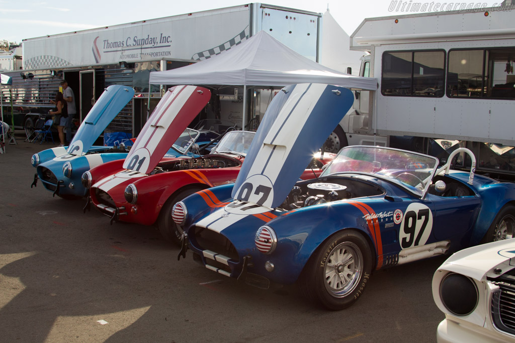 AC Shelby Cobras    - 2015 Monterey Motorsports Reunion