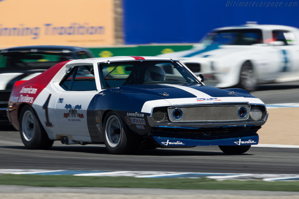 AMC Javelin - Chassis: 72AS03 - Driver: Stephen Sorenson  - 2015 Monterey Motorsports Reunion