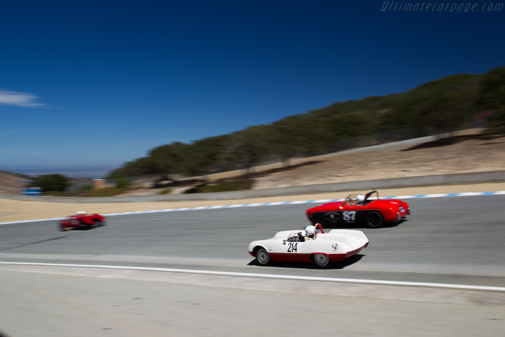 Abarth 207A - Chassis: 001 - Driver: Robert Davis  - 2015 Monterey Motorsports Reunion