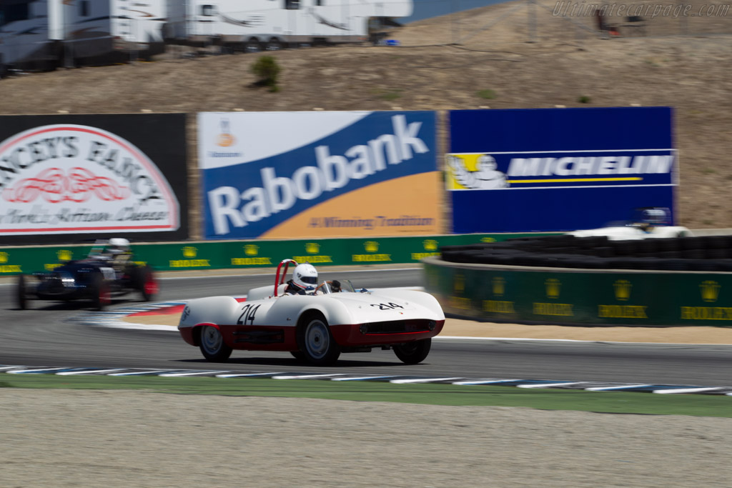 Abarth 207A - Chassis: 001 - Driver: Robert Davis  - 2015 Monterey Motorsports Reunion