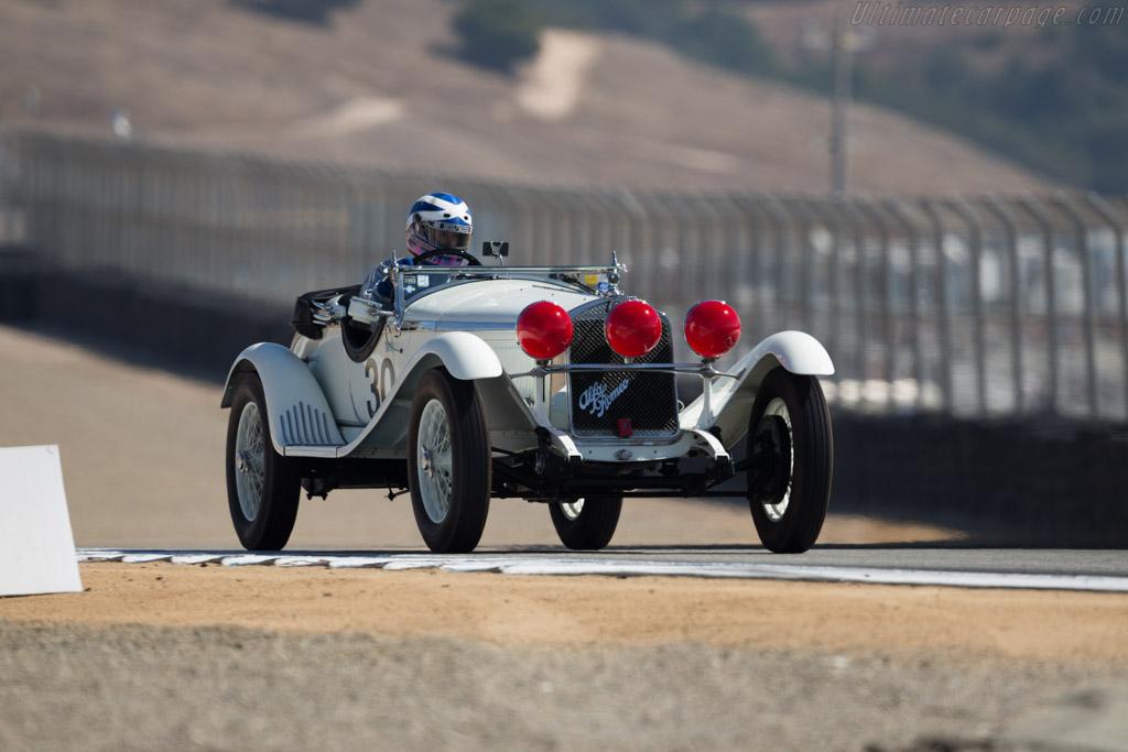 Alfa Romeo 6C 1750 GS Zagato Spider - Chassis: 8513053 - Driver: Shaun Halverson McClenaham  - 2015 Monterey Motorsports Reunion