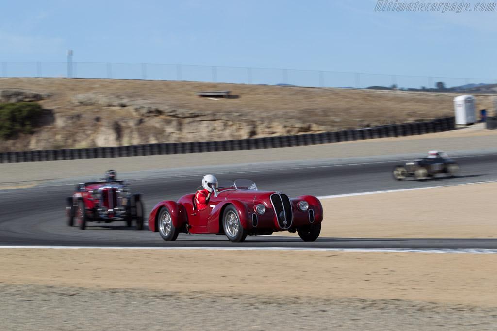 Alfa Romeo 6C 2500 SS - Chassis: 913213 - Driver: Conrad Stevenson  - 2015 Monterey Motorsports Reunion