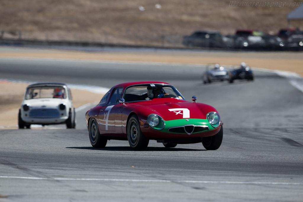 Alfa Romeo TZ - Chassis: AR750060 - Driver: Marnix Dillenius  - 2015 Monterey Motorsports Reunion