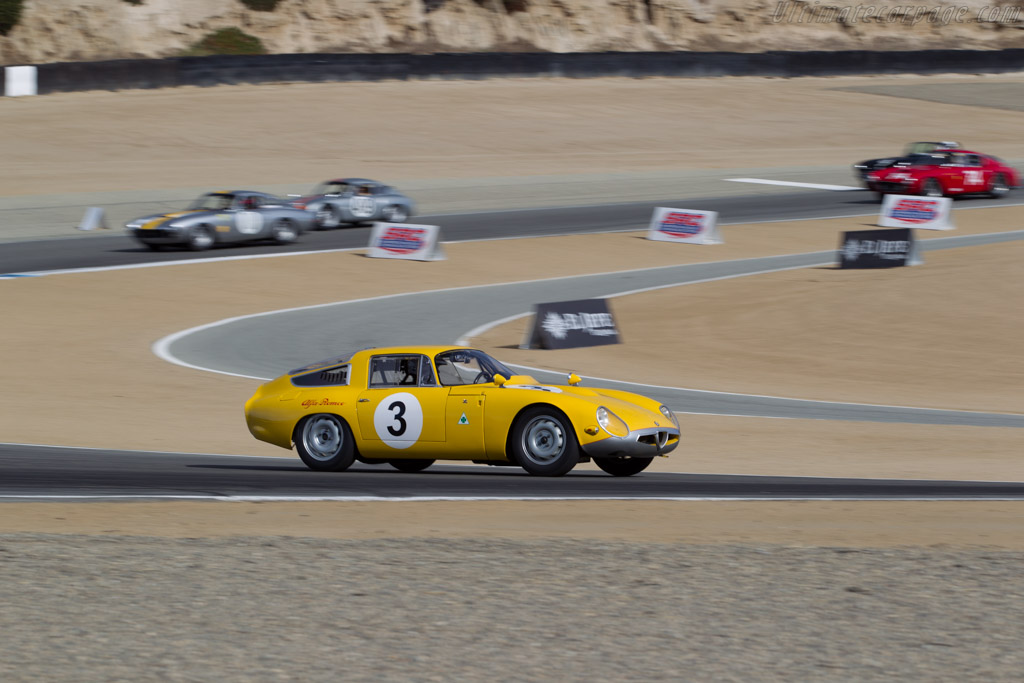 Alfa Romeo TZ - Chassis: AR750008 - Entrant: Larry Auriana - Driver: Joe Colasacco  - 2015 Monterey Motorsports Reunion