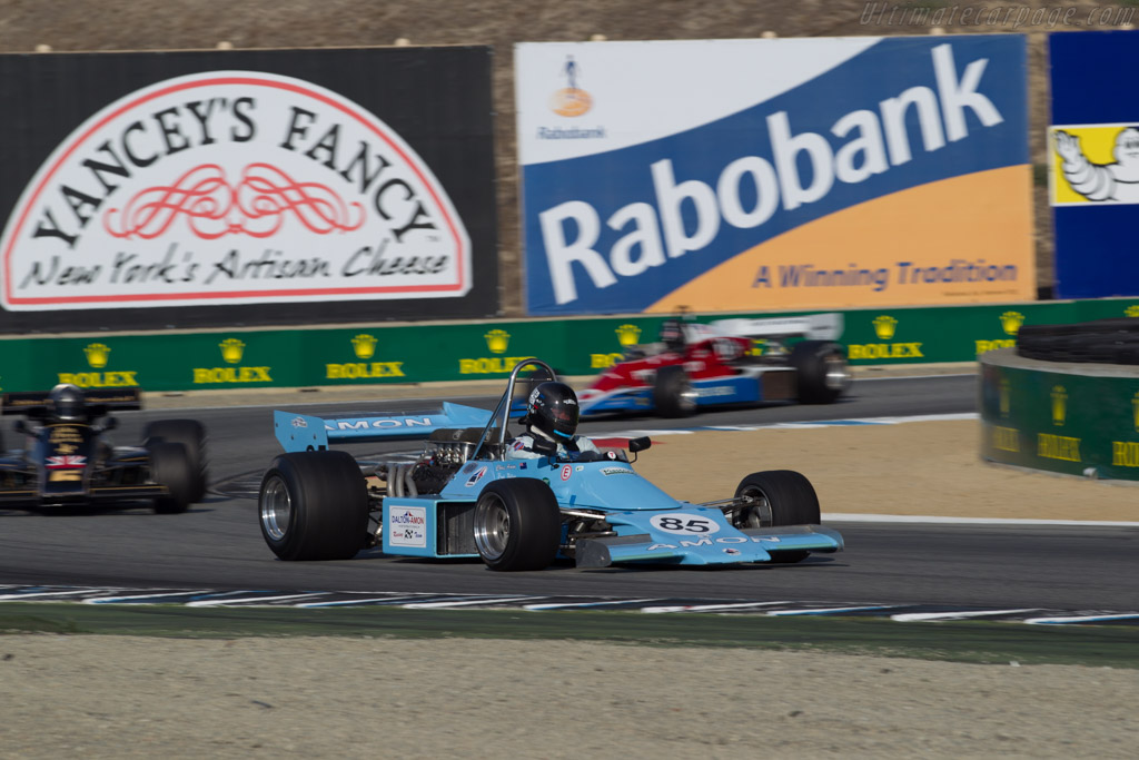 Amon F101 - Chassis: AF1/01 - Entrant: Ron Maydon - Driver: Fredric Fatien  - 2015 Monterey Motorsports Reunion