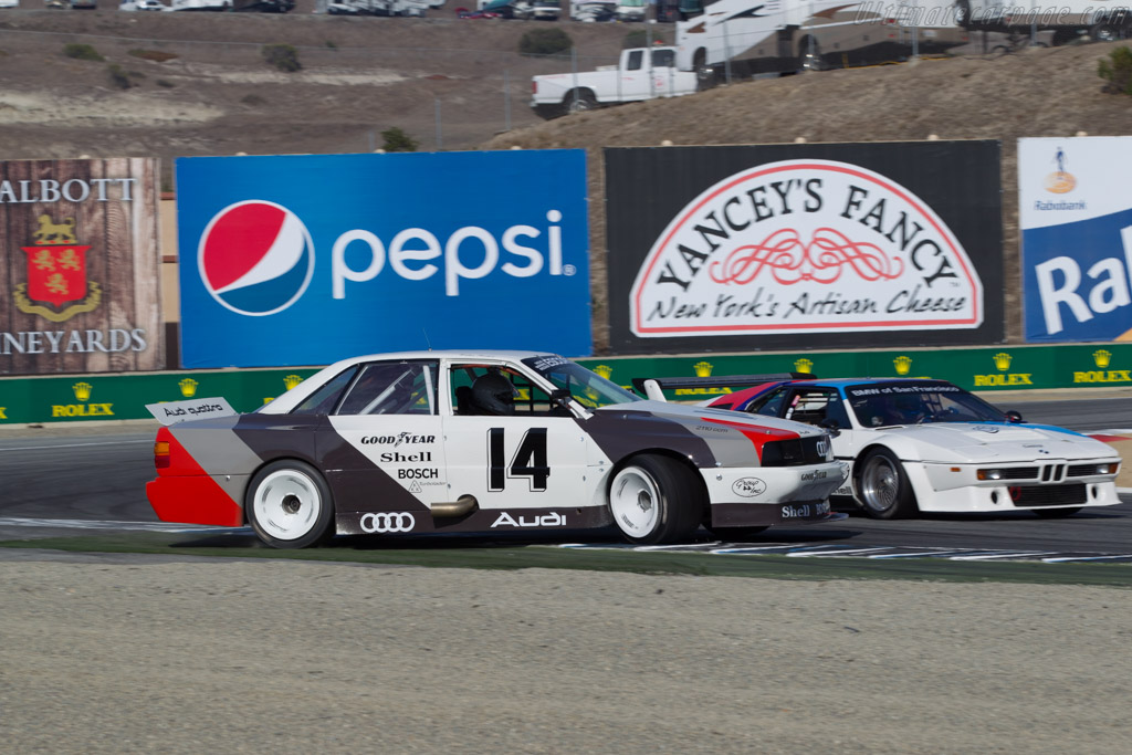 Audi 200 Quattro Trans-Am - Chassis: TA4 - Driver: Steve Zlotkin  - 2015 Monterey Motorsports Reunion