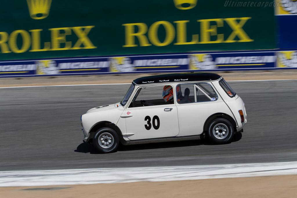Austin Mini Cooper - Chassis: C2S7L 261375 - Driver: Timothy de Silva  - 2015 Monterey Motorsports Reunion