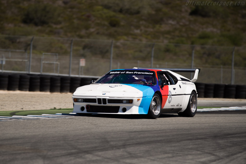 BMW M1 Group 4 - Chassis: 4301075 - Driver: Henry Schmitt  - 2015 Monterey Motorsports Reunion