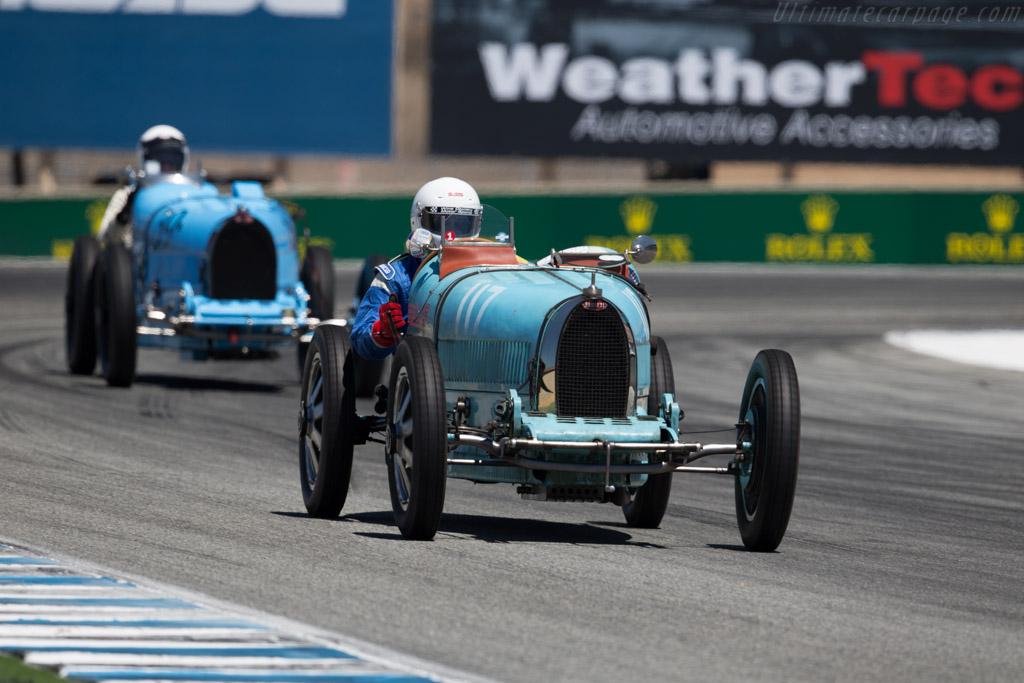 Bugatti Type 35 - Chassis: 4596 - Driver: Nathanael B. Greene  - 2015 Monterey Motorsports Reunion