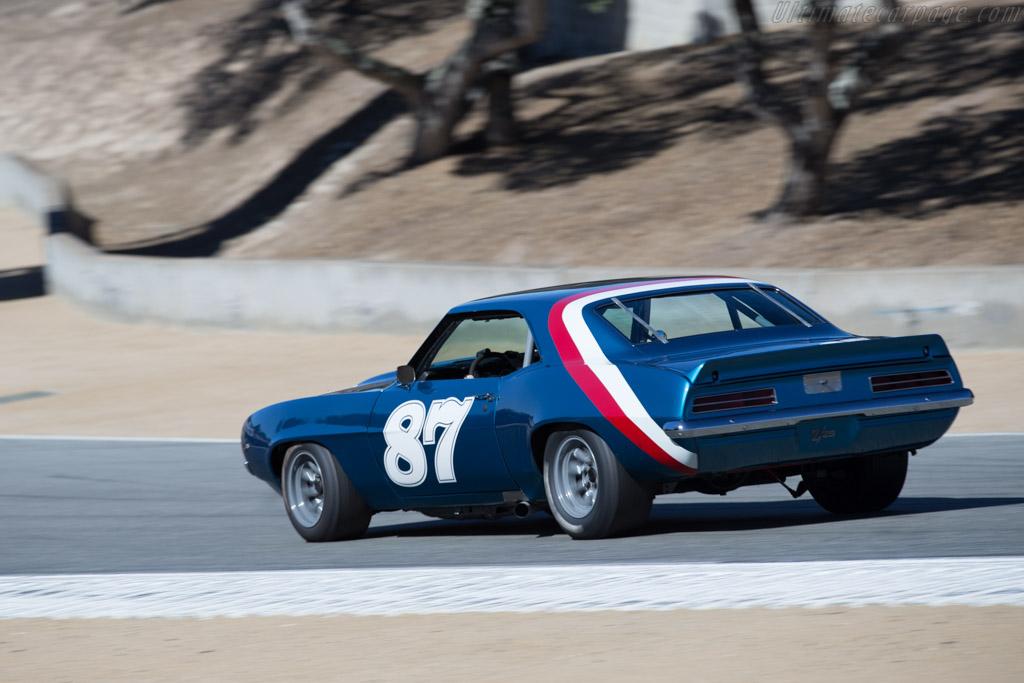 Chevrolet Camaro  - Driver: Alexander Motola  - 2015 Monterey Motorsports Reunion